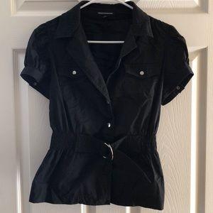 Express dress top- black